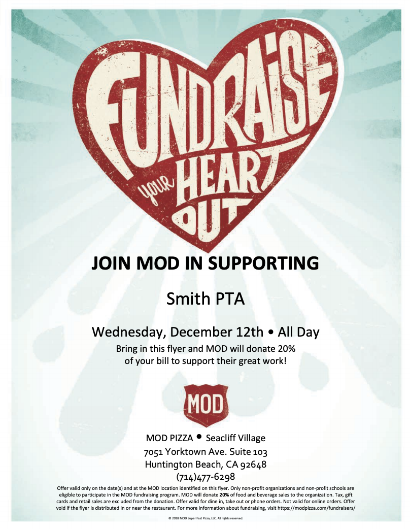 Dine Out For Smith