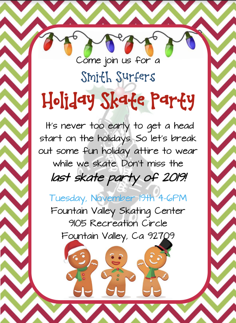 Skate Party @ Fountain Valley Skating Center